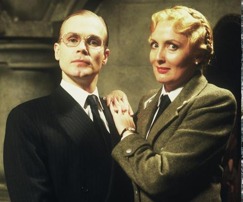 'Allo 'Allo! - BBC sitcom wallpaper with a business suit, a suit, and a three piece suit entitled Helga and Herr Flick