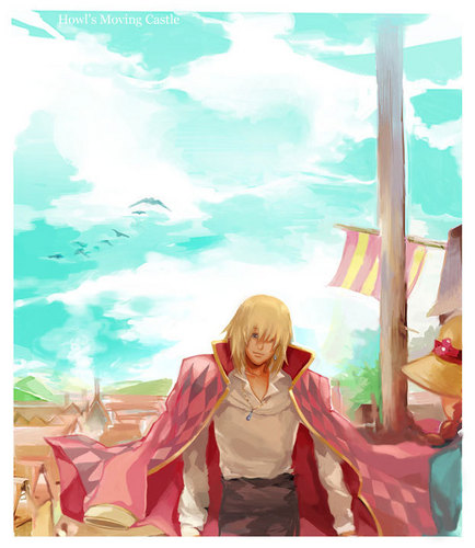 Howl's Moving castillo