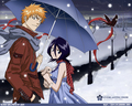 Ichigo&Rukia - bleach-ichigo-and-rukia wallpaper