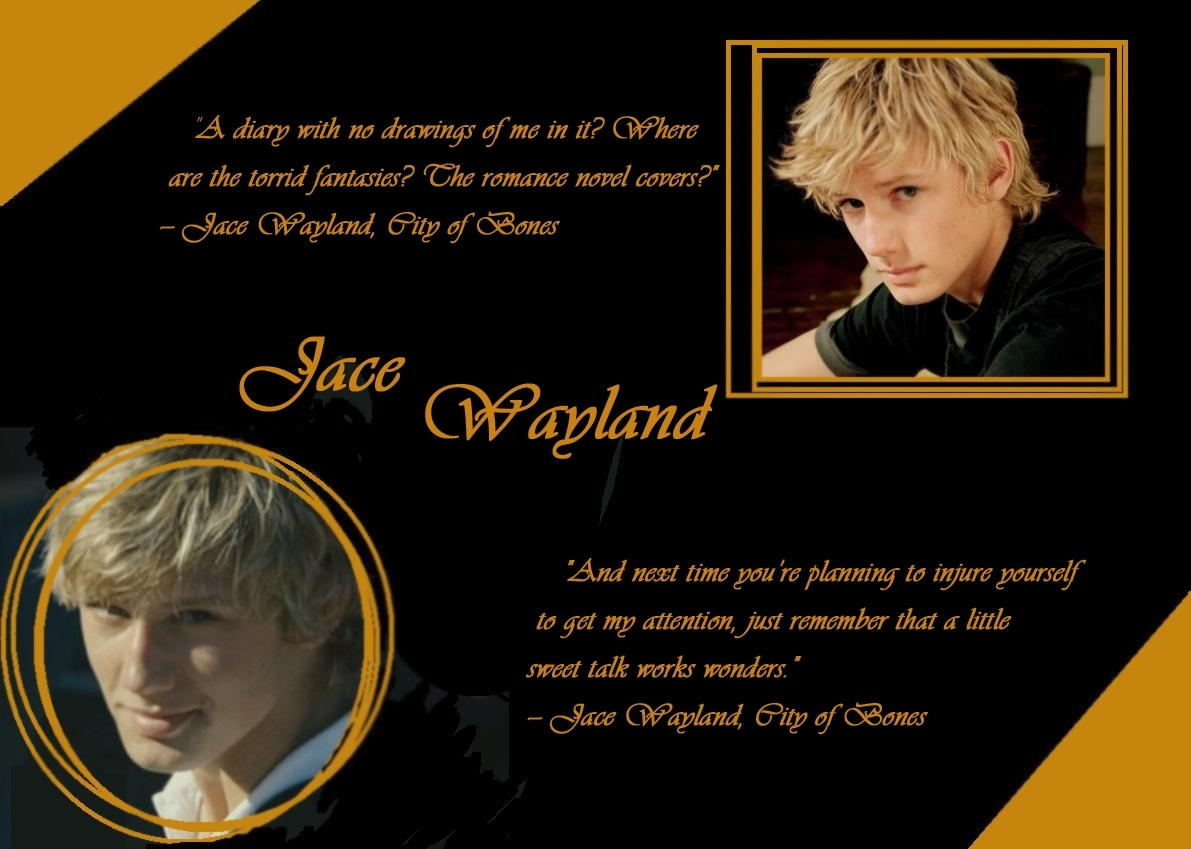 Jace Wayland Bac   Jace And Clary City Of Bones Quotes