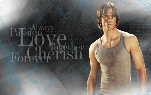 Supernatural wallpaper possibly containing a leotard entitled Jared Padalecki
