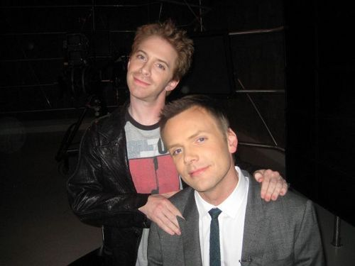 Joel Mchale and Seth