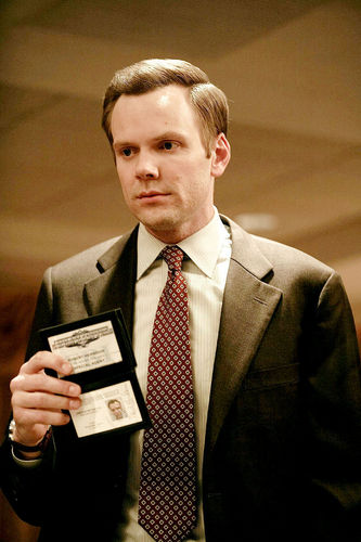 Joel Mchale in the Movie ''The informant''
