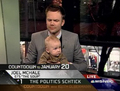 Joel Mchale and his Baby