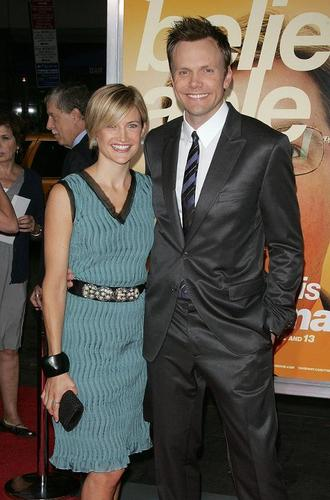 Joel Mchale and his wife - joel-mchale Photo