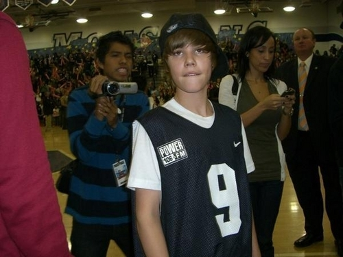 Justin at Mayfair High