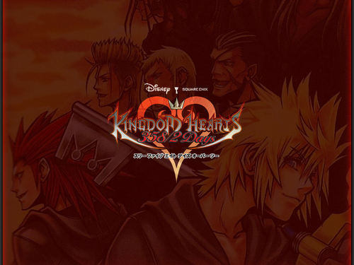 Kingdom Hearts 358/2 Days hình nền called KH