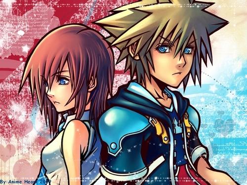 Kingdom Hearts 2 fond d'écran with animé titled KH2