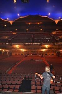 Keith playing to an empty theater Atlanta, GA