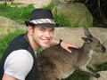 Kellan, Charlie, and Cameron Get Friendly Down-Under - twilight-series photo