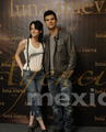Kriss and Taylor Press Conference Mexico Nov 3 - twilight-series photo