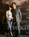 Kriss and Taylor Press Conference Mexico Nov3 - twilight-series photo