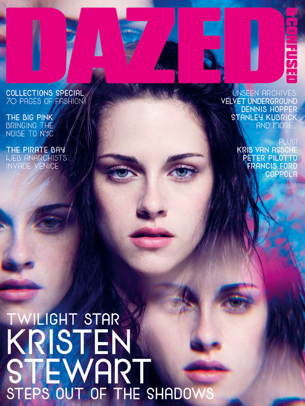 Kristen Stewart In Dazed & Confused Magazine