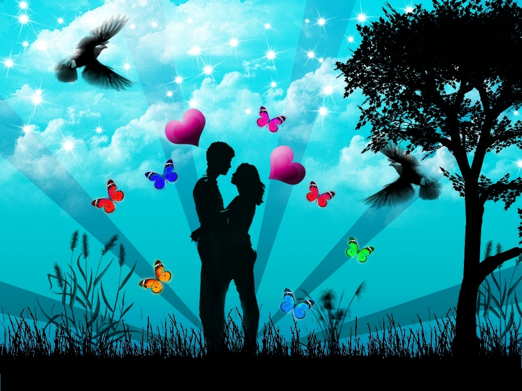 Romantic Lovers Wallpapers Love Backgrounds