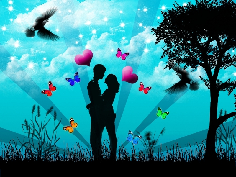 lovers kissing wallpapers. LOVERS - Love Wallpaper