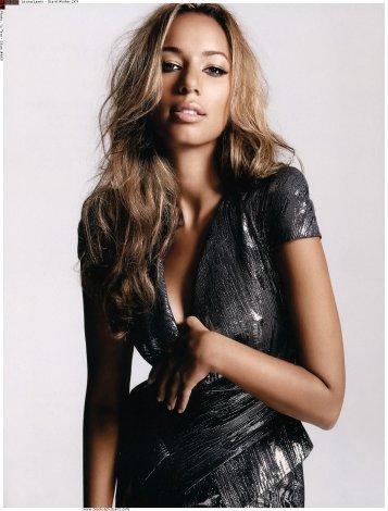 Leona in Giant Magazine