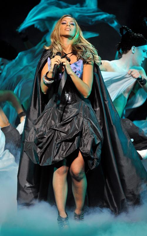 Leona Lewis Leona performing at Hackney Empire