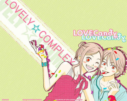 Lovely Complex Обои I Found ^^