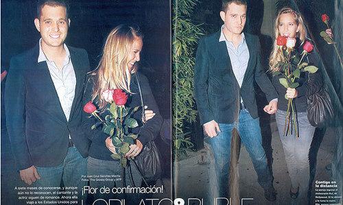Luisana Lopilato & Michael Buble