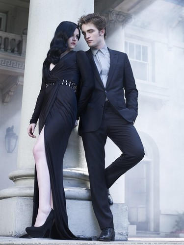আরো Rob and Kristen Harper's Bazaar outtakes!