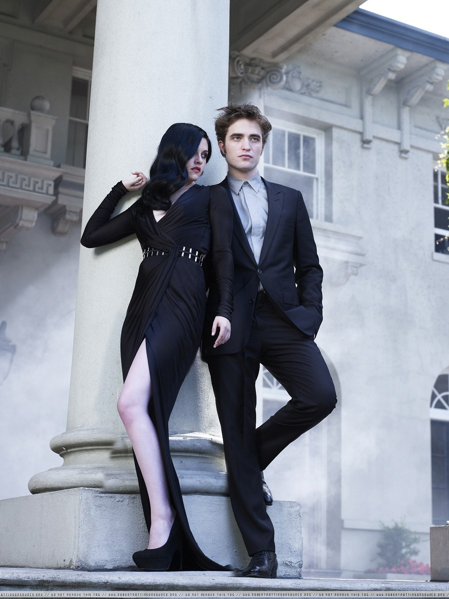 еще Rob and Kristen Harper's Bazaar outtakes!