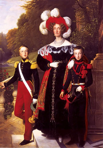 Maria Amalia of the Two Sicilies, Queen of France