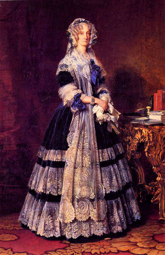 Maria Amalia of the Two Sicilies, reyna of France