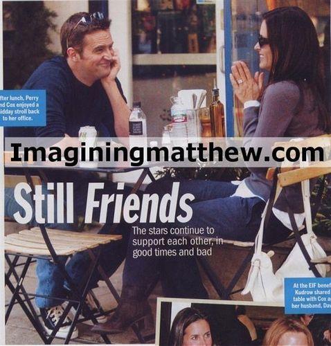 Matthew and Courteney