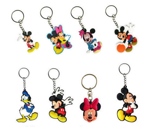 Mickey and friends Keychains