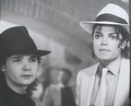 Mike and Corey - michael-jackson photo
