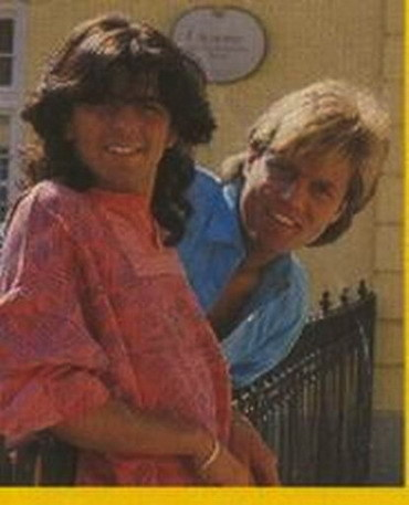 Modern Talking achtergrond probably with anime called Modern Talking - Dieter Bohlen/Thomas Anders