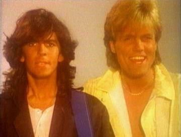 Modern Talking Hintergrund possibly containing a portrait called Modern Talking - Dieter Bohlen/Thomas Anders