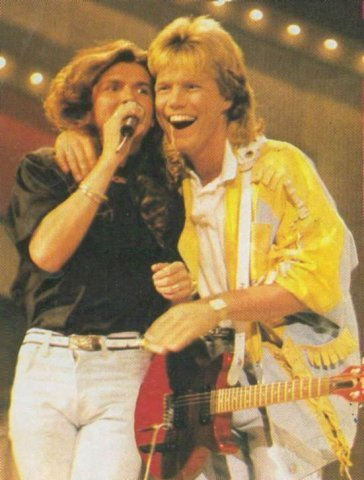 Modern Talking Hintergrund containing a konzert called Modern Talking - Dieter Bohlen/Thomas Anders