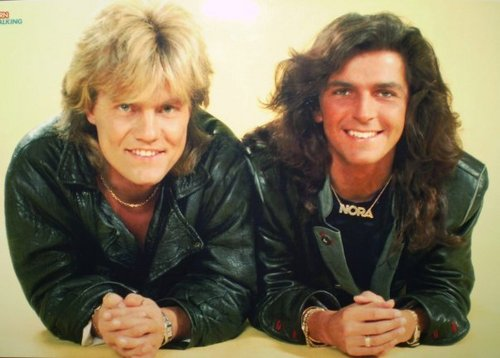 Modern Talking Hintergrund called Modern Talking - Dieter Bohlen/Thomas Anders