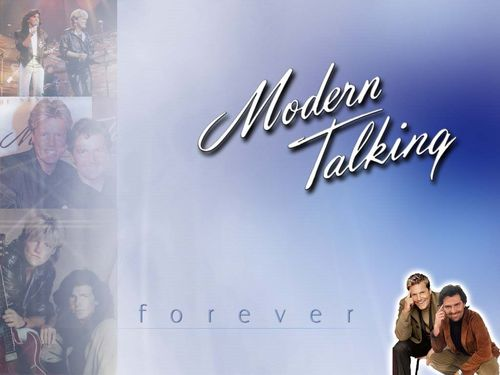 Modern Talking Hintergrund titled Modern Talking