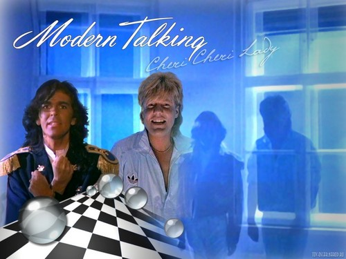 Modern Talking kertas dinding entitled Modern Talking
