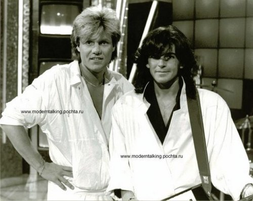 Modern Talking Hintergrund entitled Modern Talking