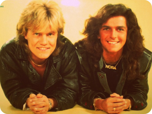Modern Talking Hintergrund called Modern Talking