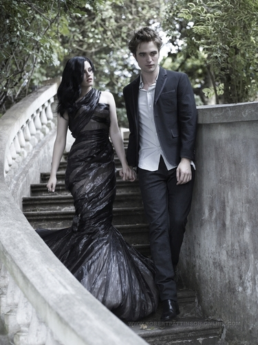 thêm Rob and Kristen Harper's Bazaar outtakes