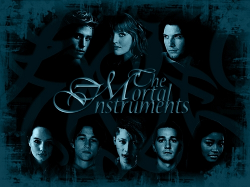Mortal Instruments BLUE - mortal-instruments Wallpaper