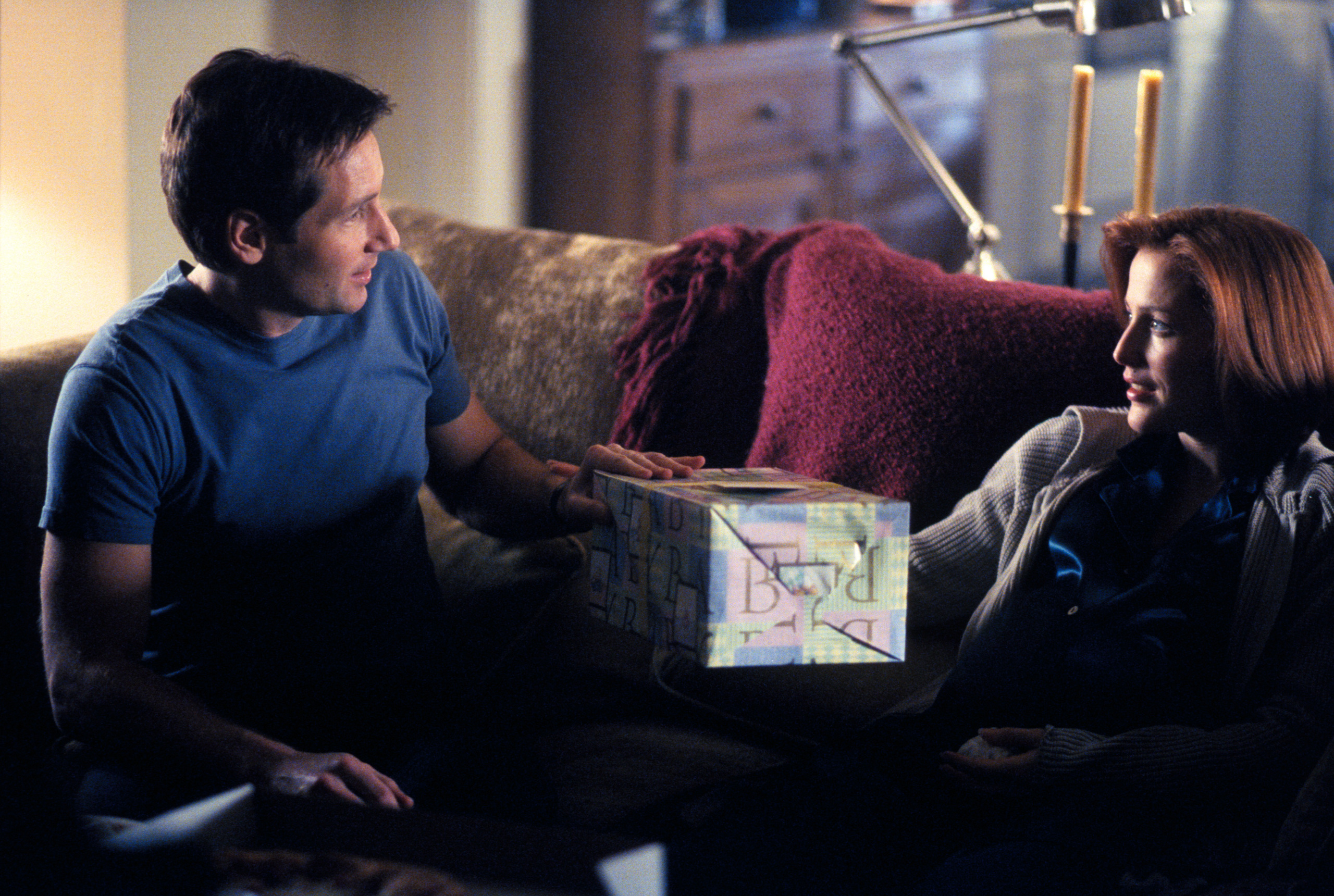 image Xfiles nights mulder and scully erotica