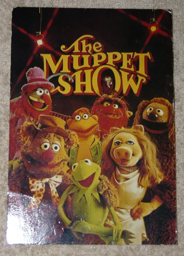 Muppet sembrar, puerca Post card (personalised)