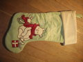 My New Piglet and Pooh Bear Christmas 2009 Stocking - winnie-the-pooh photo