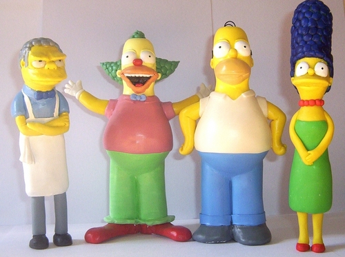 My Simpsons Statues par DDG