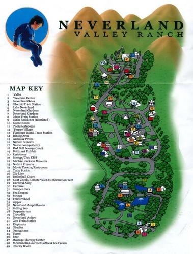Neverland Map x