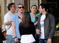 New Moon cast outside of their hotel in Los Angeles  - twilight-series photo