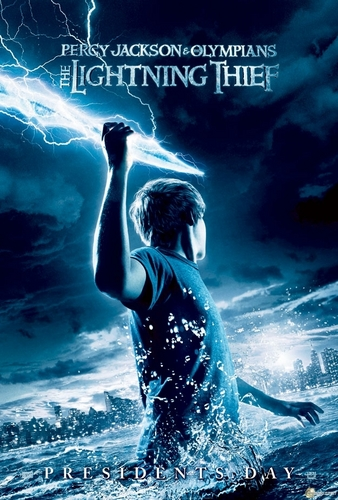 Percy Jackson & The Olympians livres fond d'écran titled New Percy Jackson Movie Poster.