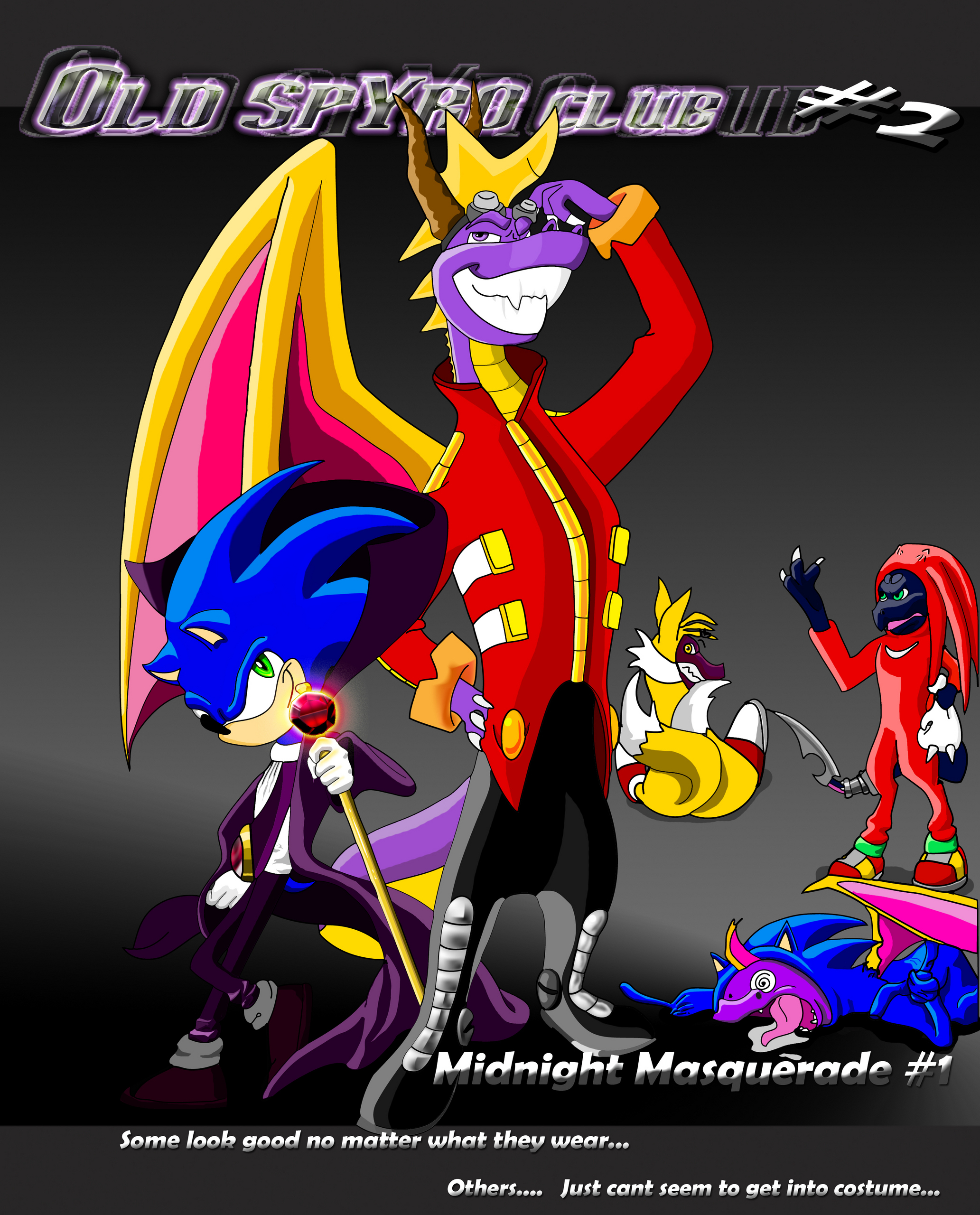 OSC of deviantArt: Midnight Masquerade