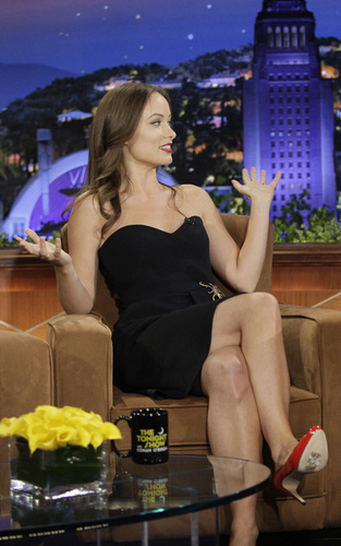 Olivia Wilde on The Tonight toon with Conan O'Brien (5/11/09)
