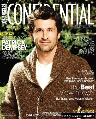 Patrick Dempsey- LA Confidential Magazine photoshoot - patrick-dempsey photo